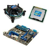Kit placa de baza second hand Asus P8H77-M PRO, Intel i3-3220, Cooler
